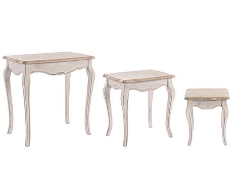 Clarisse 3 db Asztalka