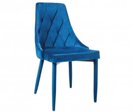 Scaun Kristian Velvet Blue