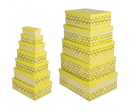 Set 12 cutii cu capac Dali