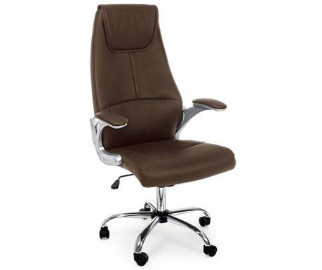 Kancelářská židle Camberra Brown