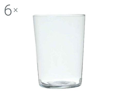 Set 6 pahare pentru apa New York 550 ml