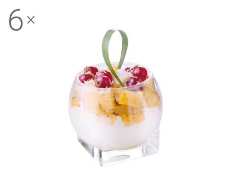 Set 6 kozarcev za prigrizke Cherrysh 120 ml