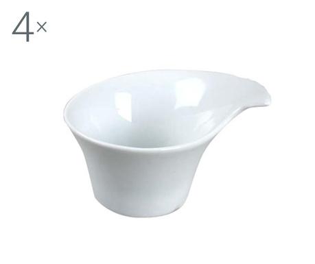 Set 4 skledic za prigrizke Circular 150 ml