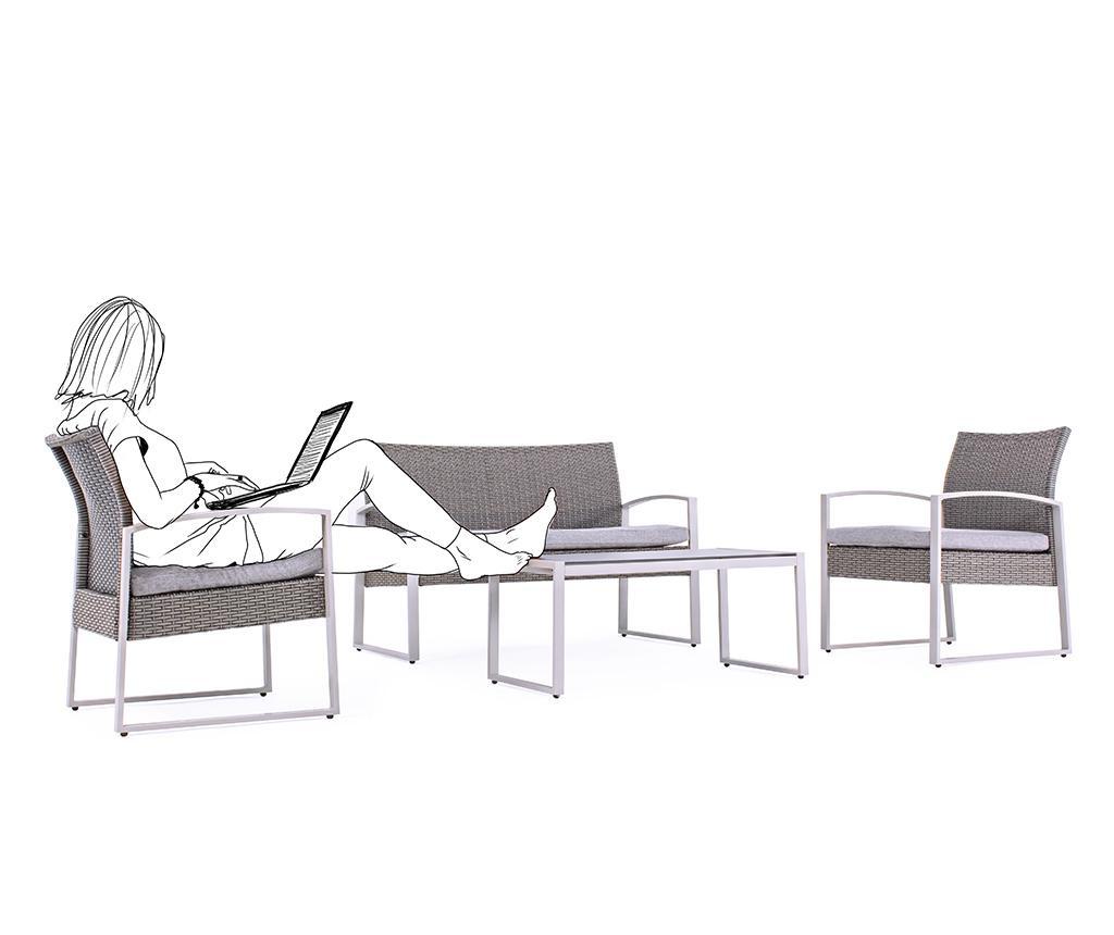 Kurtis 4 darabos Kültéri bútor szett