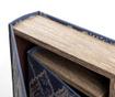 Set 2 škatel v obliki knjige Gumar