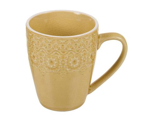 Hrnek Lisabona Mustard 330 ml