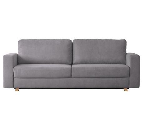 Canapea extensibila 3 locuri Soul Light Grey