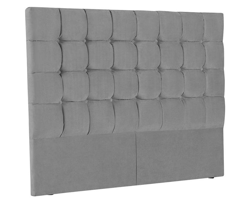 Tablie de pat Milla Light Grey 200 cm