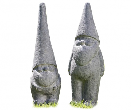 Set 2 decoratiuni de gradina Gnome Harald