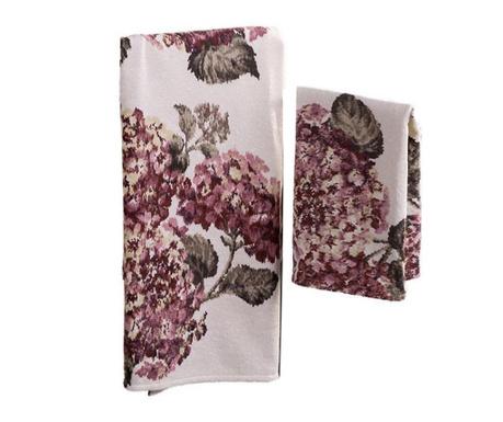 Sada 2 ručníků Ortensia Old Pink