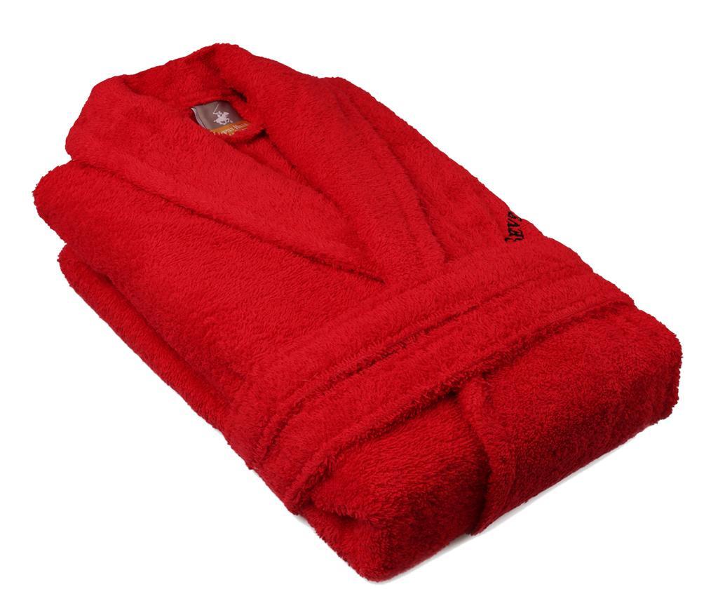 Mπουρνούζι μπάνιου unisex Austen Red M/L