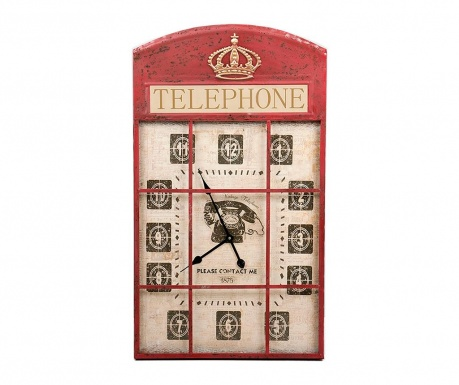 Nástěnné hodiny Jess Telephone