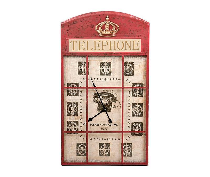 Zidni sat Jess Telephone
