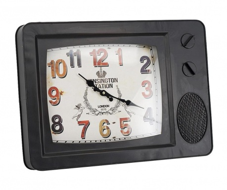 Nástěnné hodiny Sam Black
