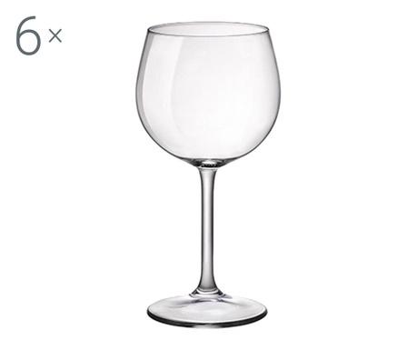 Set 6 čaša s nogom Riserva 480 ml