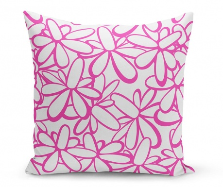 Perna decorativa Flowers Purple 43x43 cm