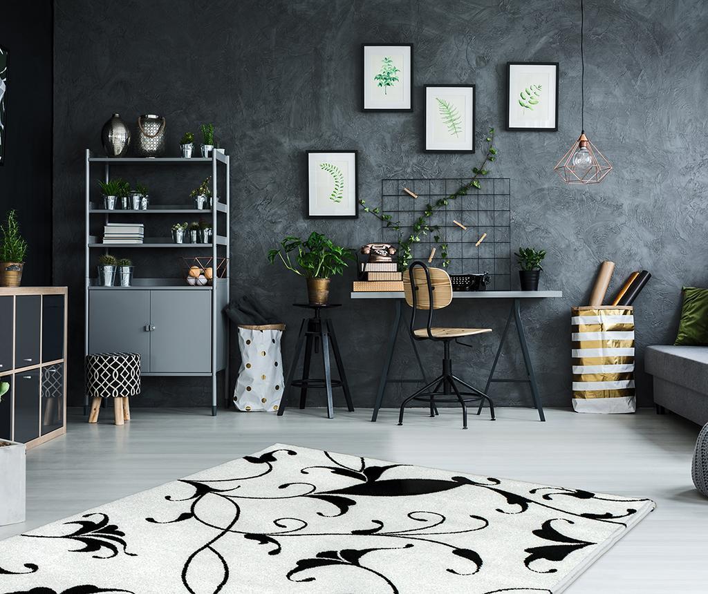 Preproga My Black and White Blanca 120x170 cm