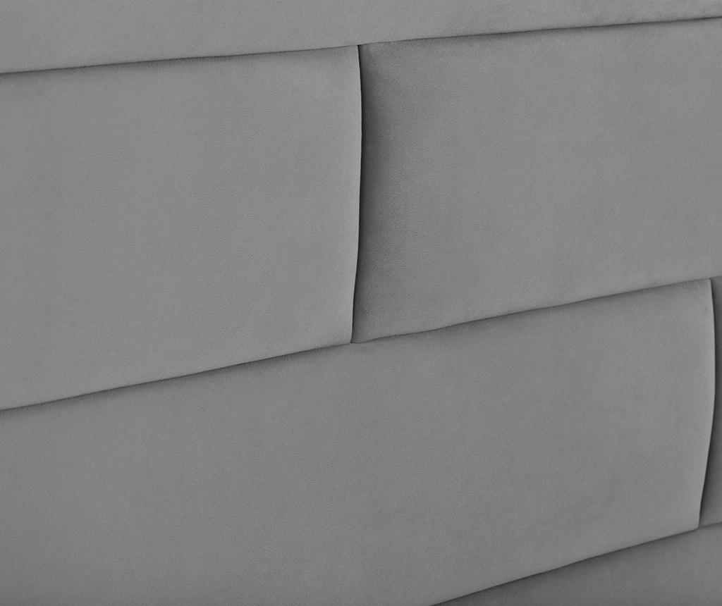 Tablie de pat Bratford Light Grey 200 cm