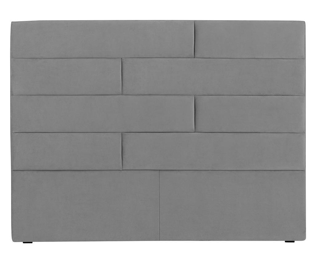 Tablie de pat Bratford Light Grey 180 cm
