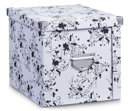 Pudełko z pokrywką do przechowywania Floral Abstract Plus