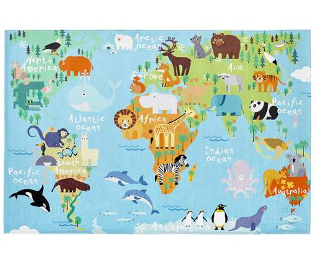 Covor My Torino Kids Map