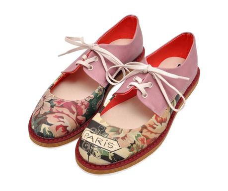 Pantofi dama Vintage Flowers