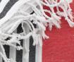 Ručnik za plažu Fouta Antalya Red 100x180 cm