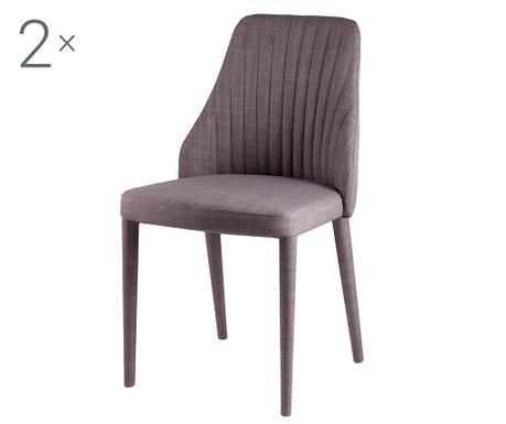 Комплект 2 стола Dora Light Grey