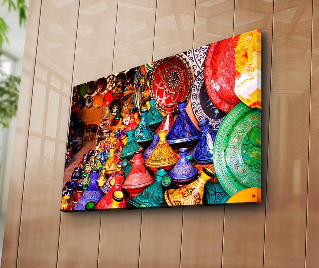 Slika Oriental Vase 45x70 cm
