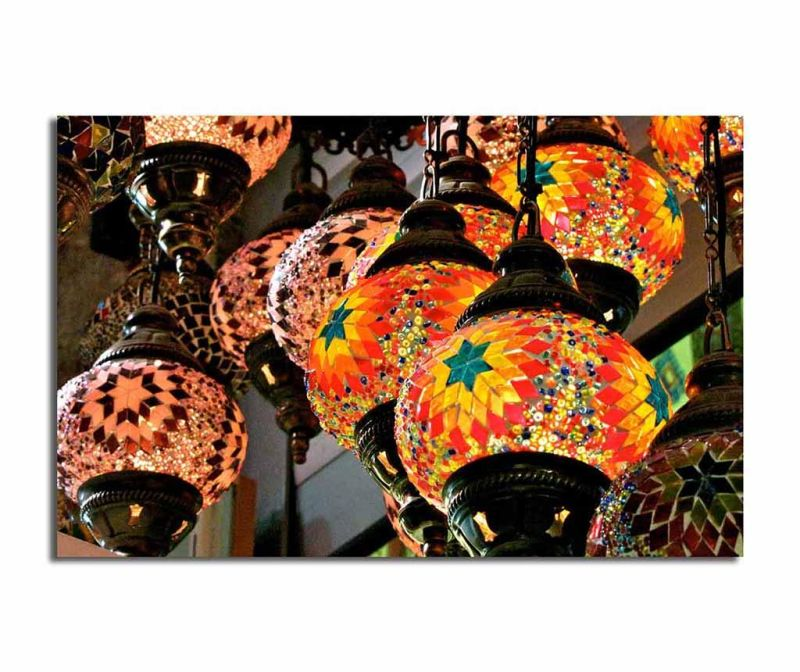 Tablou Oriental Lighting 45x70 cm