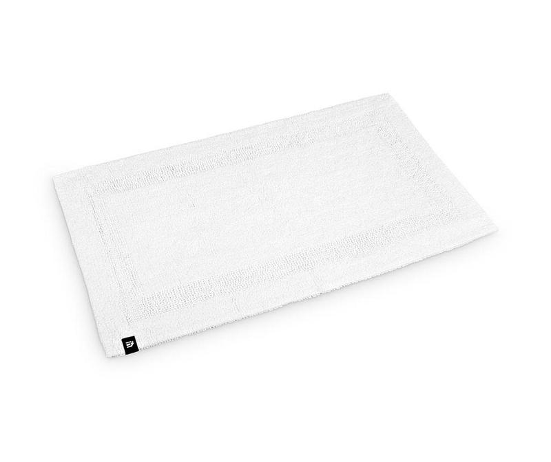 Kopalniška preproga Frame Luxe White 50x80 cm