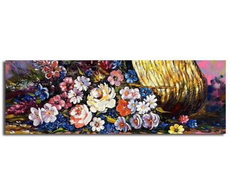 Obraz Flora 30x90 cm