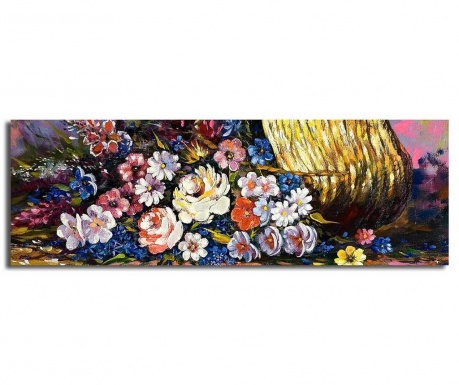 Slika Flora 30x90 cm