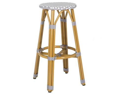 Krzesło barowe Gweny Silver
