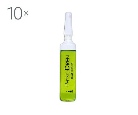 Physiodren Slim 10 db Testformáló fiola szérum 10 ml