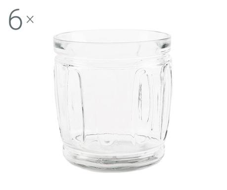Sada 6 pohárov Agrigento 415 ml