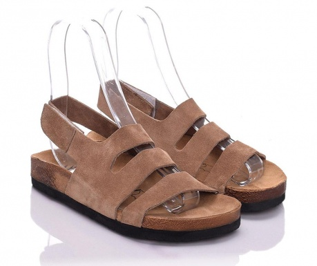 Sandale dama Odele Extra Light Brown 40