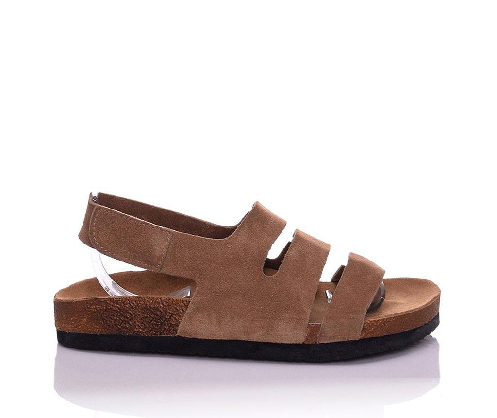 Sandale dama Odele Extra Light Brown 35