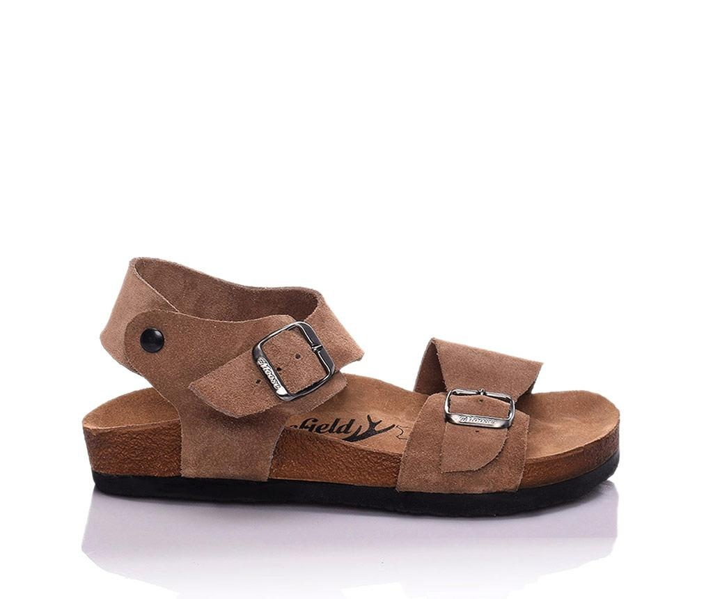 Sandale dama Ariella Extra Brown 38