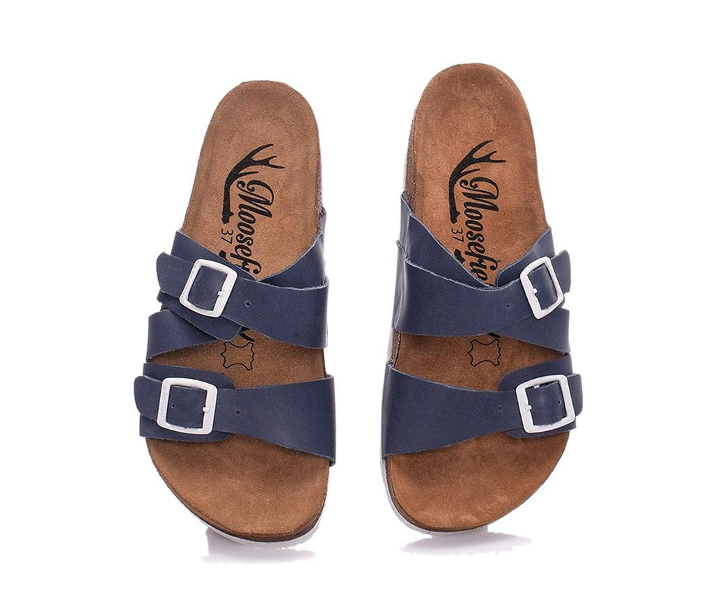 Papuci dama Angie Dark Blue 39