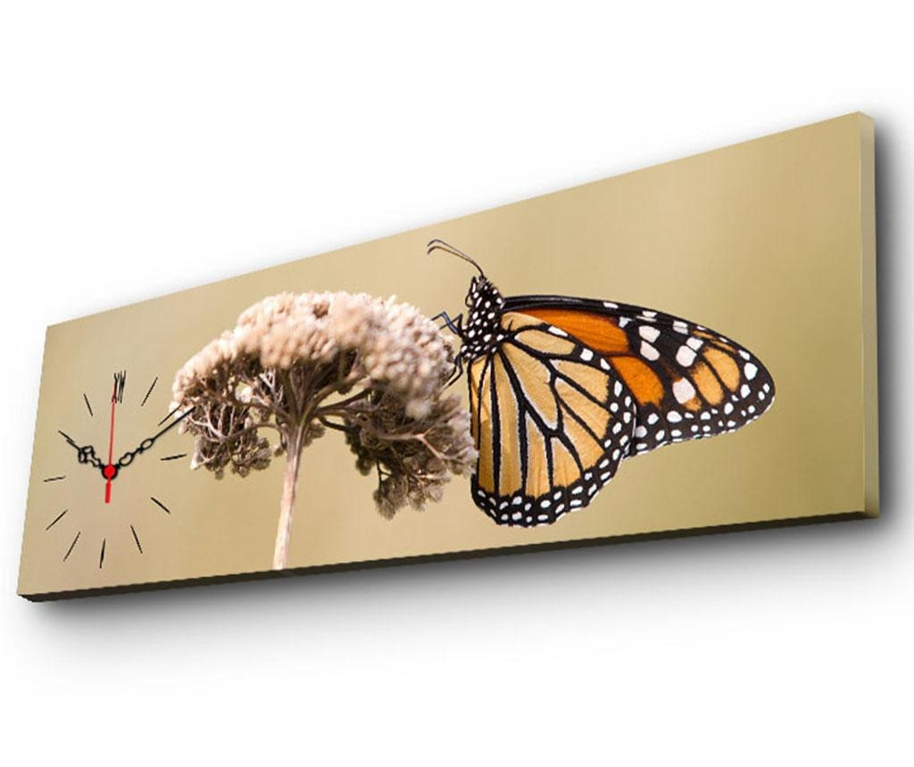 Tablou cu ceas Monarch 30x90 cm