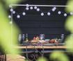 Venkovní světelná girlanda Lubanida Blanco 778 cm