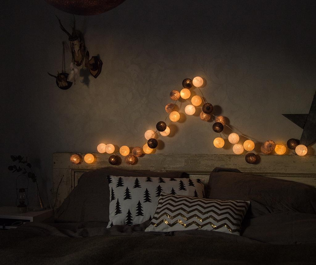 Girlanda świetlna Favorites Taupe 444 cm