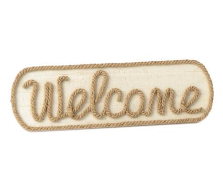 Decoratiune de perete Simple Welcome