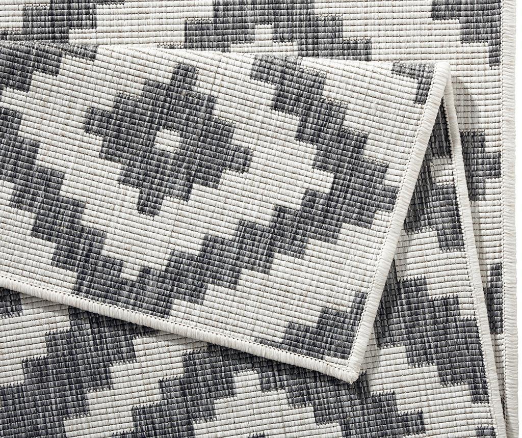 Twin Malta Grey Cream Kültéri szőnyeg 160x230 cm