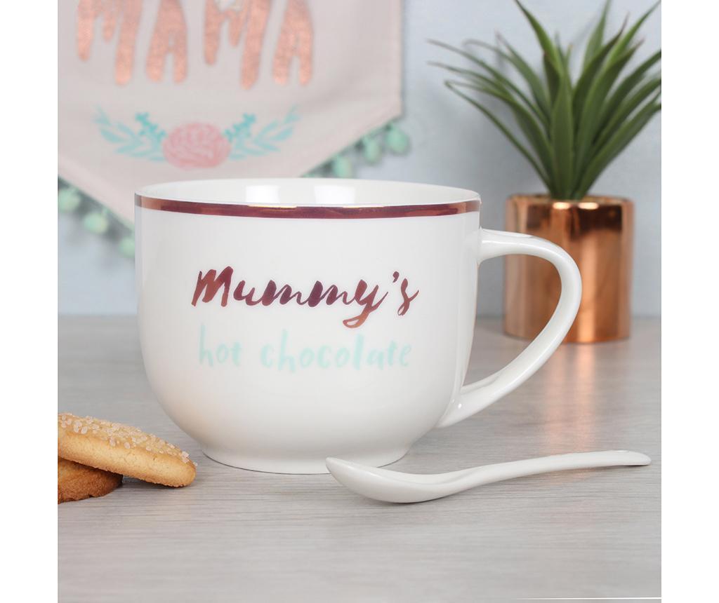 Mummy's Hot Chocolate Bögre kiskanállal 300 ml