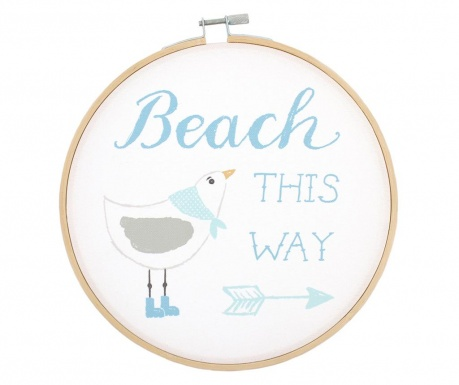 Decoratiune de perete Beach This Way