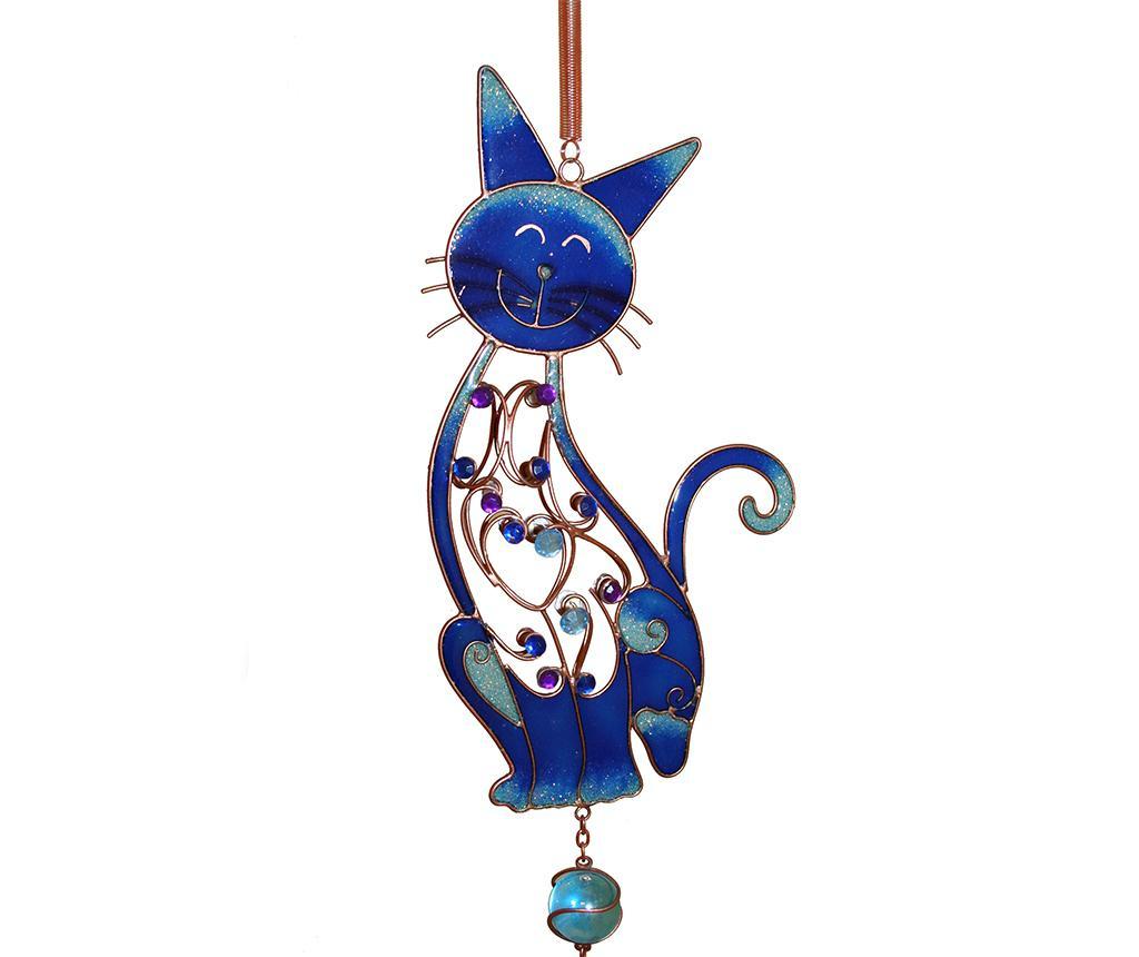 Zvončki na veter Kitty Cat Blue