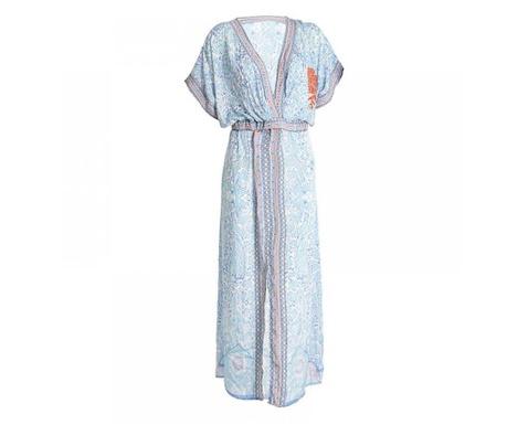 Ženska obleka za plažo Delia Light Blue