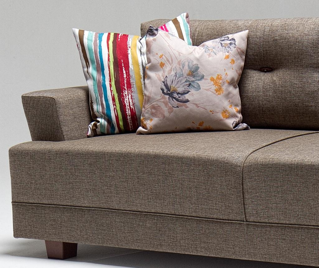 Canapea 3 locuri Balzan Brown